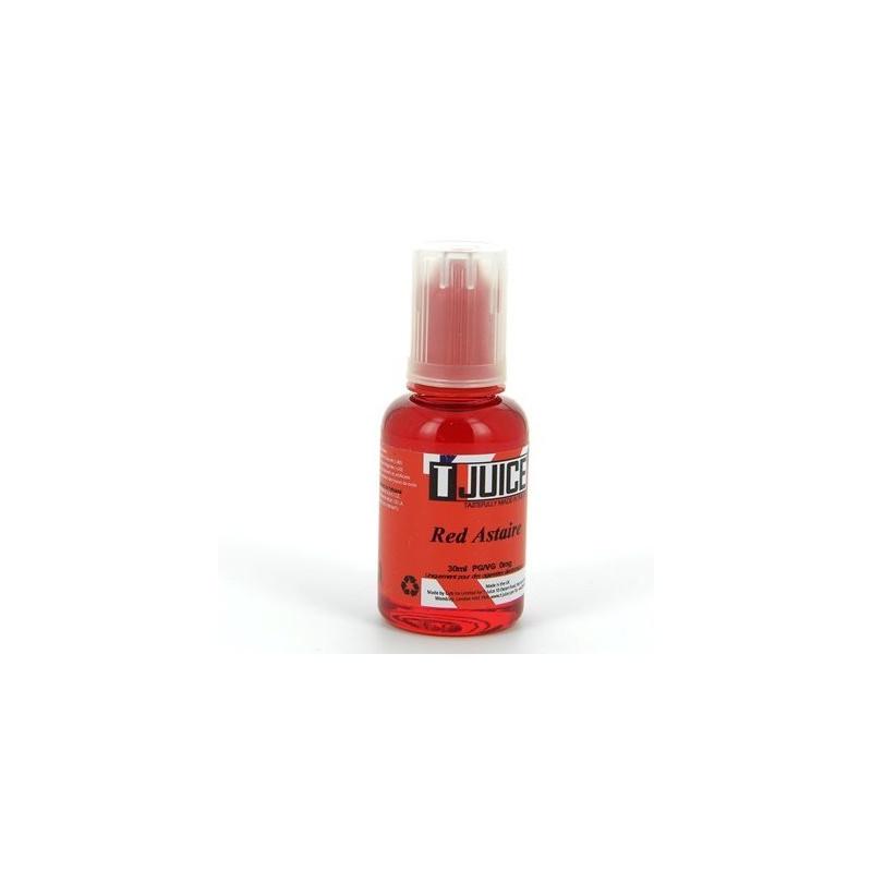 RED ASTAIRE 30ML - TJUICE - Le goût délicieux des fruits rouges et du raisin noir se retrouve en harmonie avec l'eucalyptus douce, l'anis et le menthol. La saveur de notre Red Astaire...