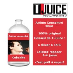 Cubanito concentré 30ml - T-Juice dans la catégorie Bases DIY et Concentrés