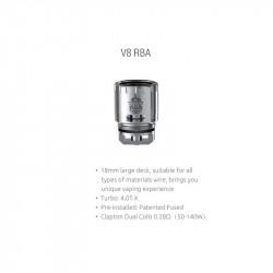 V8 RBA pour TFV8 - Smoktech dans la catégorie Ateliers des Experts Reconstructibles RDA / RTA
