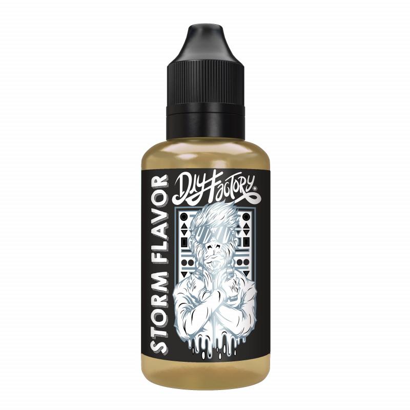 Arôme Storm Flavour 30 Ml Concentré - DIY Factory - Subtil mélange de tabacs boisés