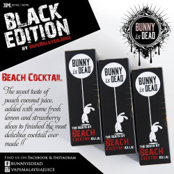 Beach Cocktail Black Edition 30 Ml - Bunny is DeaD dans la catégorie Promotion Liquides