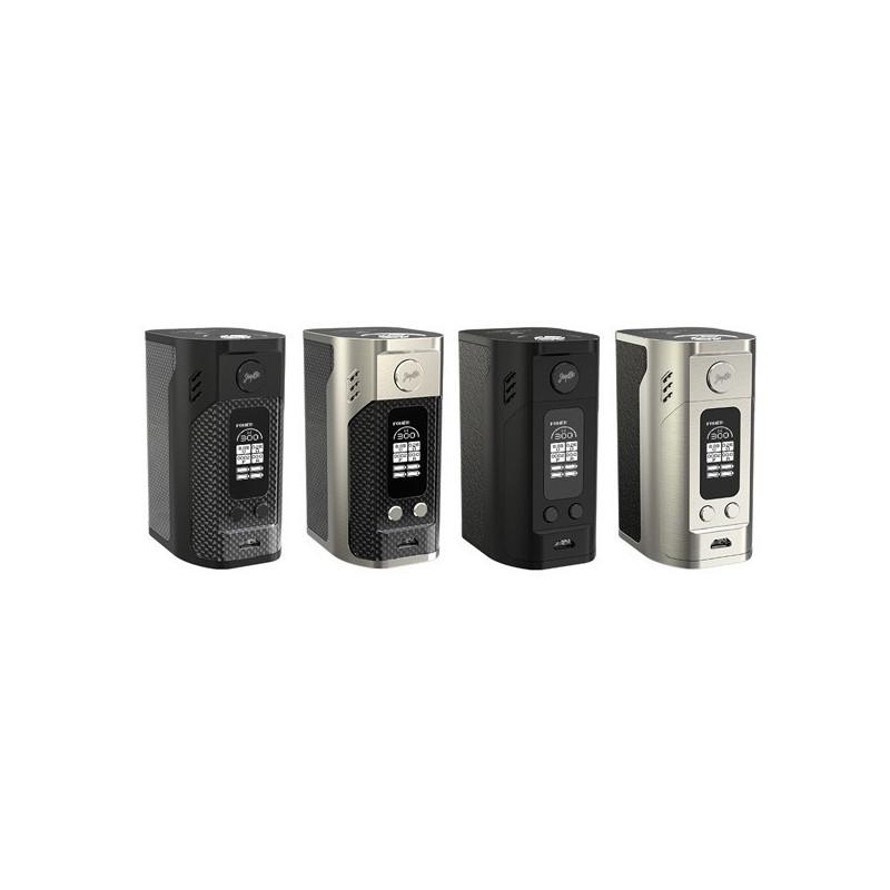 REULEAUX RX300 - LEATHER VERSION - WISMEC - La Reuleaux RX300 de Wismec est une toute nouvelle box pouvant atteindre 300w et fonctionnant avec trois accus 18650. Elle possède une puissance variable, le...