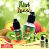 Kiwi Peach Concentré 10/30ML - 99 Flavor - Le Kiwi Peach est un délicieux mélange de pêche juteuse et de Kiwi.