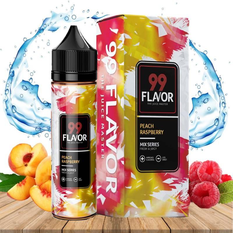 Peach Raspberry Arôme Boosté TPD 60ML - 99 Flavor