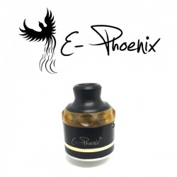 Resurrection V2 Top Cap Black Ultem - E-Phoenix