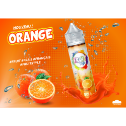 Orange 50ML+10ML Nico10 - Fruit Style