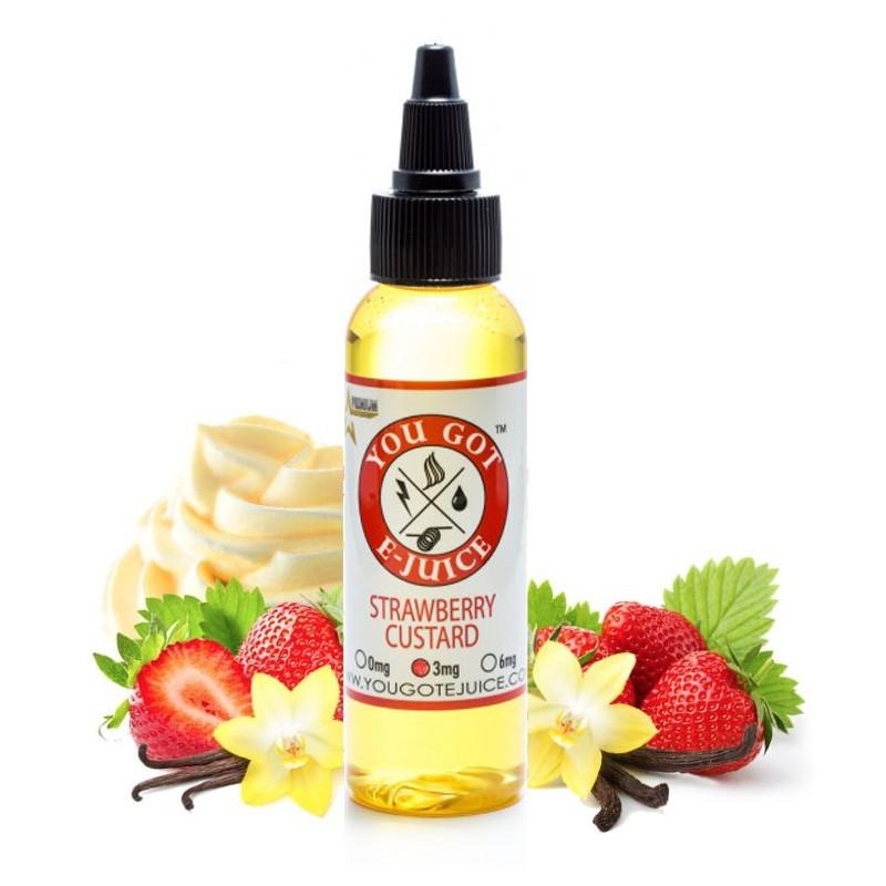 Strawberry custard 60ml - You got e-juice