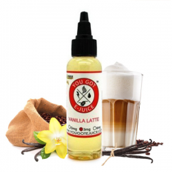 Vanilla Latte TPD 50 ML Arôme Boosté - You got e-juice
