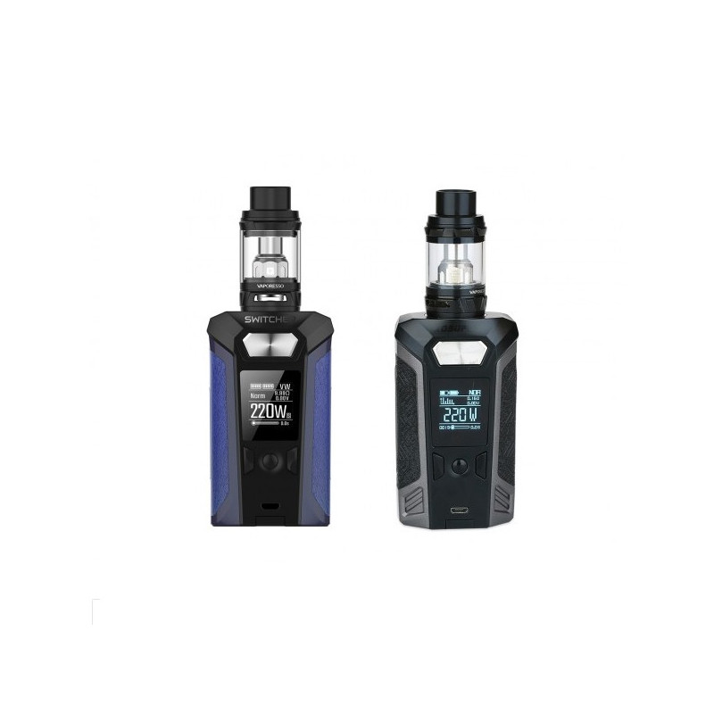 Kit Switcher 220W TC + NRG Mini 2ML TPD - Vaporesso