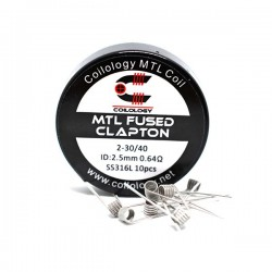 Performance Coils MTL Fused Clapton par lot de 10 - Coilology