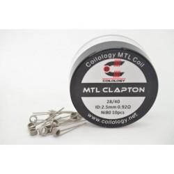 Performance Coils MTL Clapton par lot de 10 - Coilology