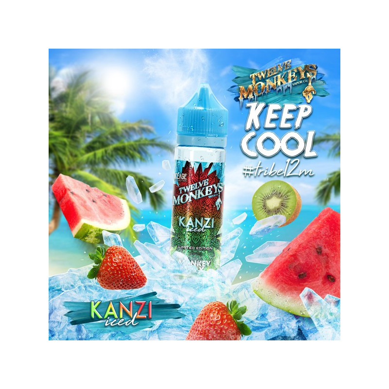 Kanzi Iced 50ML - 12 Monkeys