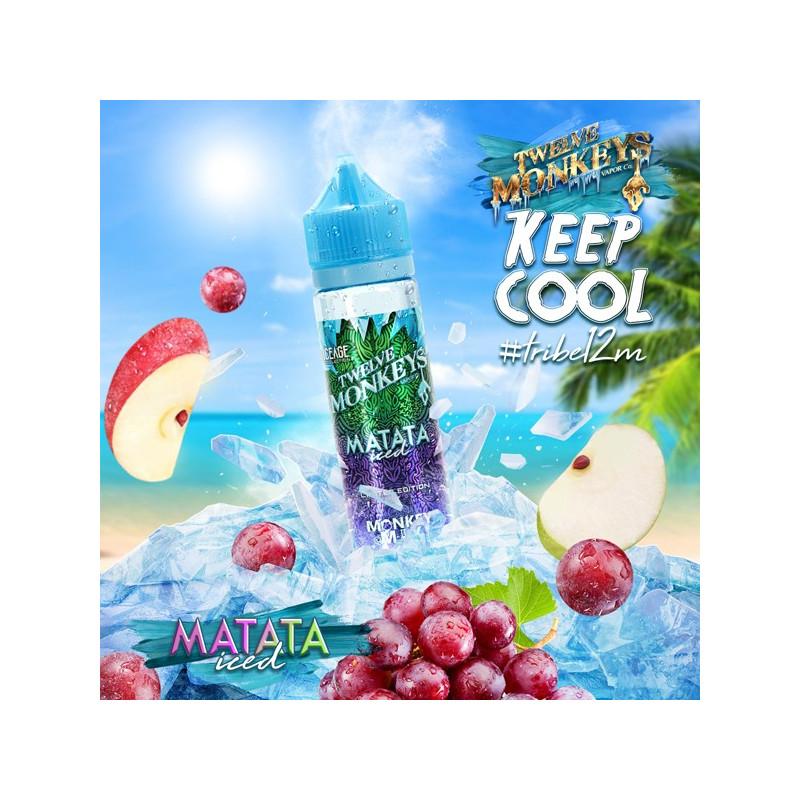Matata Iced 50ML - Twelve Monkeys VAPOR Co.