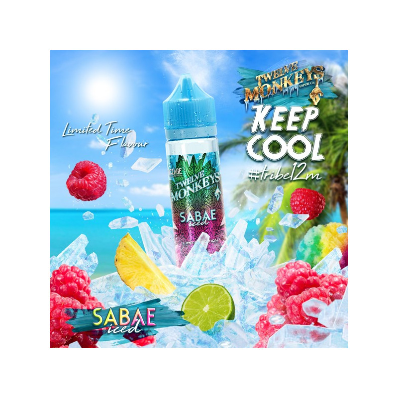 Sabae Iced 50ML - Twelve Monkeys VAPOR Co.