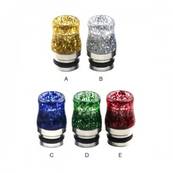Stainless Steel Sequins 810 Drip Tip 0272
