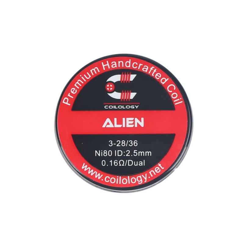 HandCrafted Coils Alien ( SS / Ni80 ) - Coilology