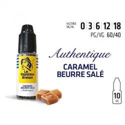 Authentique - Caramel Beurre Salé 10ML - Le Vapoteur Breton