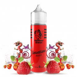 Mix'N'Vap - Sensations Rouge 50ML - Le Vapoteur Breton