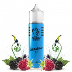 Mix'N'Vap - Sensations Bleu 50ML - Le Vapoteur Breton