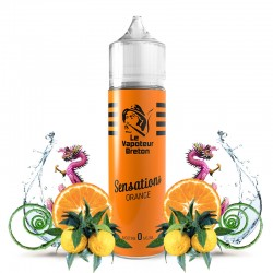 Mix'N'Vap - Sensations Orange 50ML - Le Vapoteur Breton
