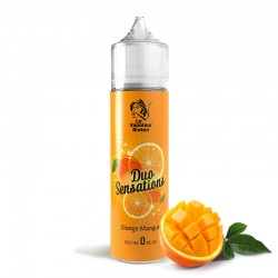 Mix'N'Vap - DUO Sensations Orange-Mangue 50ML - Le Vapoteur Breton