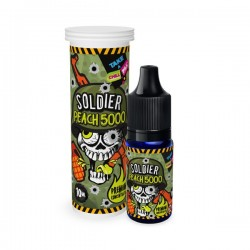 Concentré Soldier - Peach 5000 10ML - Chill Pill