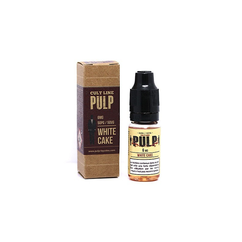 White Cake 10ML par 10 - Cult Line - Pulp