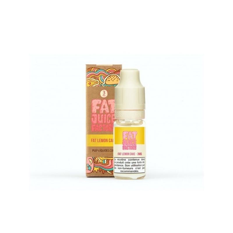 Fat Lemon Cake 10ML par 10 - Fat Juice Factory - Pulp