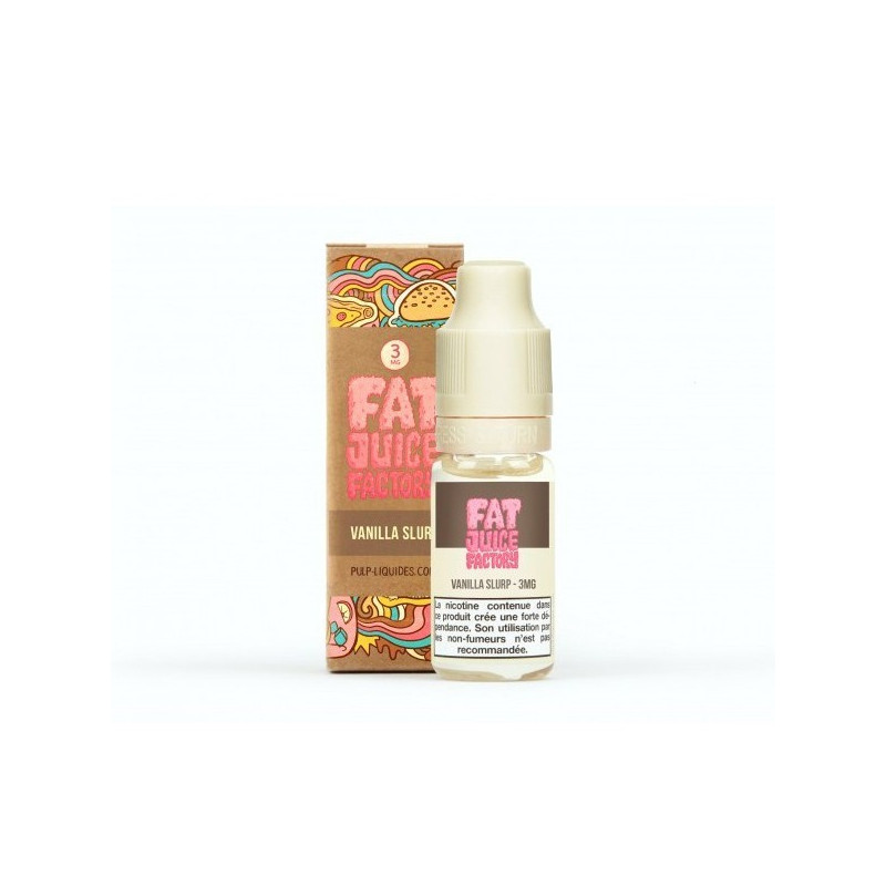 Vanilla Slurp 10ML par 10 - Fat Juice Factory - Pulp