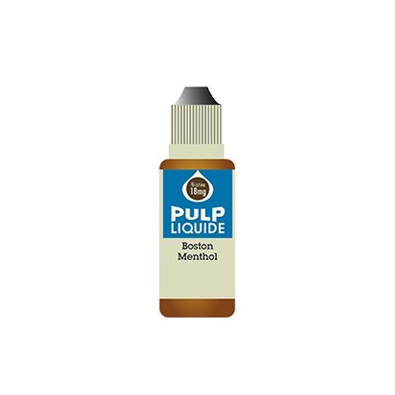Boston Menthe 10ML par 10 - Pulp Classic Tabac Gourmand