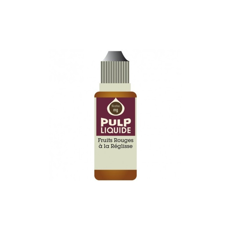 Fruits Rouges à la Réglisse 10ML par 10 - Pulp Classic Fruit
