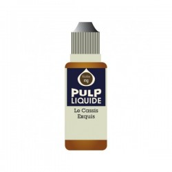 Le Cassis Exquis 10ML par 10 - Pulp Classic Fruit