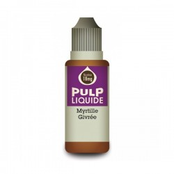 Myrtille Givrée 10ML par 10 - Pulp Classic Fruit