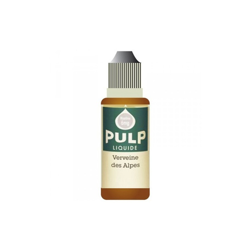 Verveine des Alpes 10ML par 10 - Pulp Classic Gourmand
