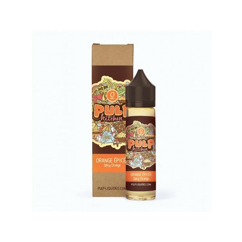 Orange Epicée 50ML - Pulp Kitchen
