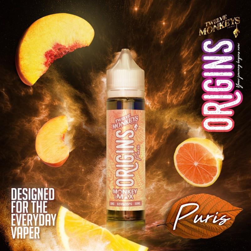 Puris Origins 50ML - Twelve Monkeys VAPOR Co.