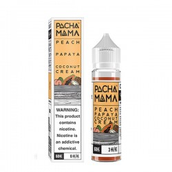 Peach Papaya Coconut Cream 50ML Pachamama Line - Charlie's Chalk Dust