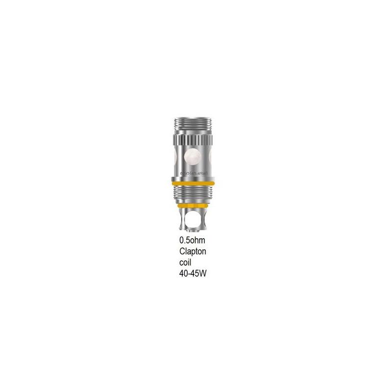 Résistances Triton par 5 0.5 ohms - Aspire