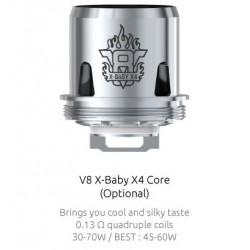 Résistances Q2 pour TFV8 X-Baby par 5 - Smoktech