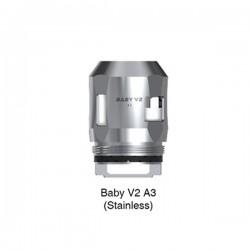 Résistances Baby V2 SS A3 0.15 ohms par 3 - Smoktech