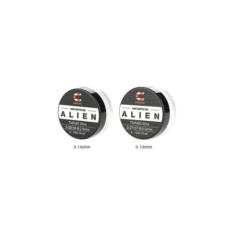 HandCrafted Coils Alien TMN80 par lot de 10 - Coilology