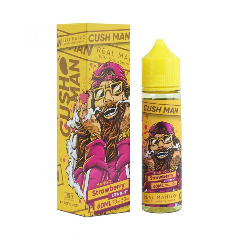 Mango Strawberry 50ML - Cush Man - Nasty Juice