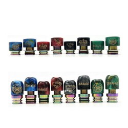 Liftable Resin Drip Tip 5pcs/pack - Shield Cig