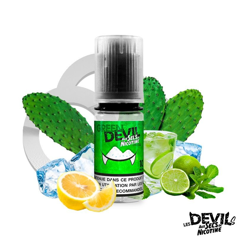 Green Devil 10ML - Sel de nicotine - Avap