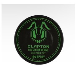 CSJ1012 Ni80 Wire Clapton 15ft - Vapjoy