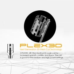 Résistances Zenith Plex3D par 5 - Innokin