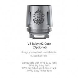 Résistances M2 0.25ohm pour TFV8 Baby par 5 - Smoktech