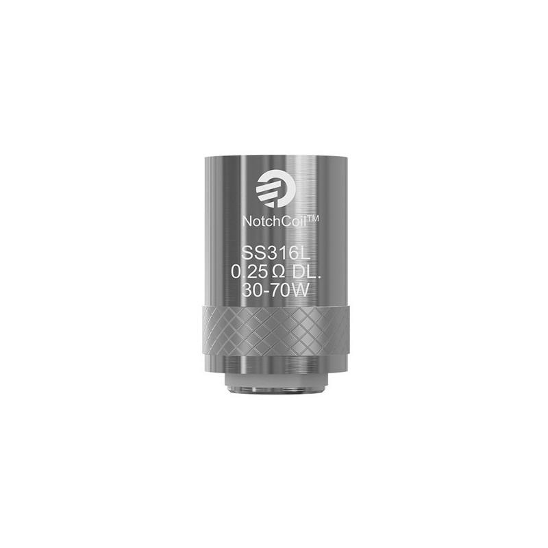 Notch coil DL 0,25 Ohm - Vendu par 5 - Joyetech