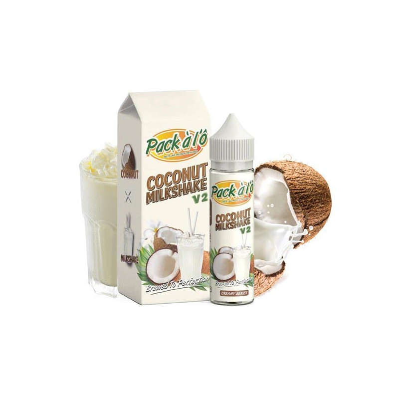 Coconut Milkshake 50ML - Pack à l'Ô
