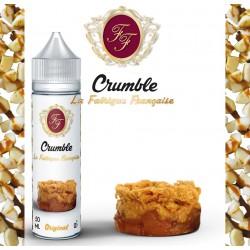 Le Crumble 50ML + Booster 10ML - La Fabrique Française